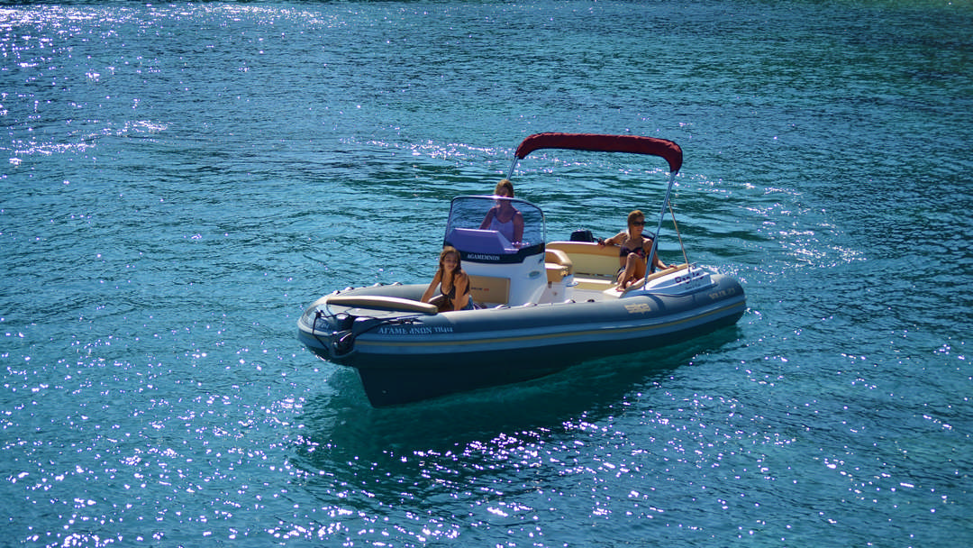 Agamemnon & Achilleus | 175 HP Sport Deluxe RIBs for rent in Paxos