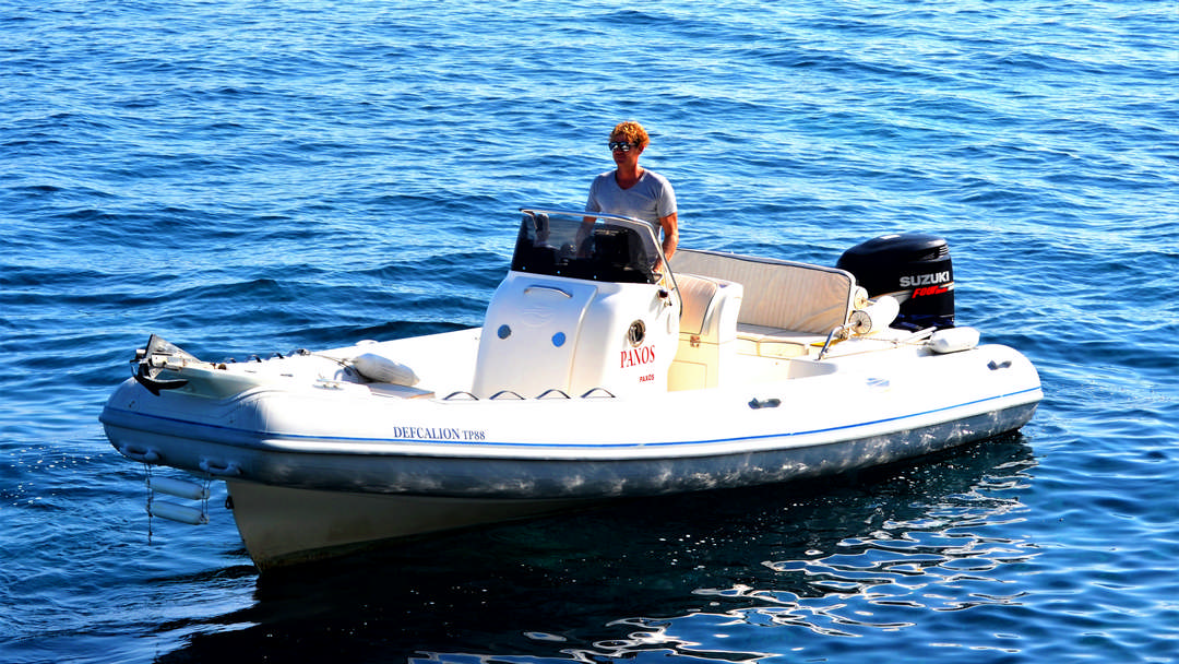 Defcalion | 250 HP Sport Deluxe RIB