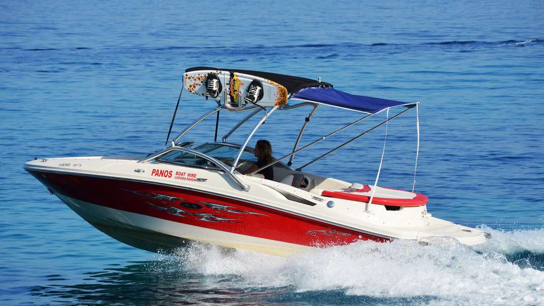 Ermis | 250 HP Water Sport Boat for rent in Paxos