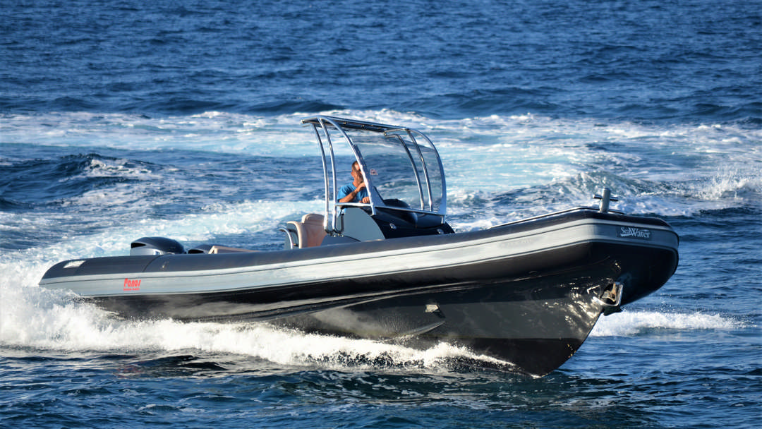 Esmeralda | 2 x 350 HP Luxury RIB for hire in Paxos