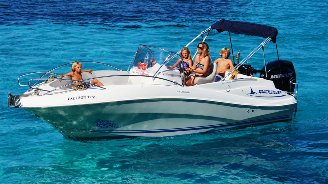 Faethon | 150 HP Sport Deluxe Boat for hire in Paxos