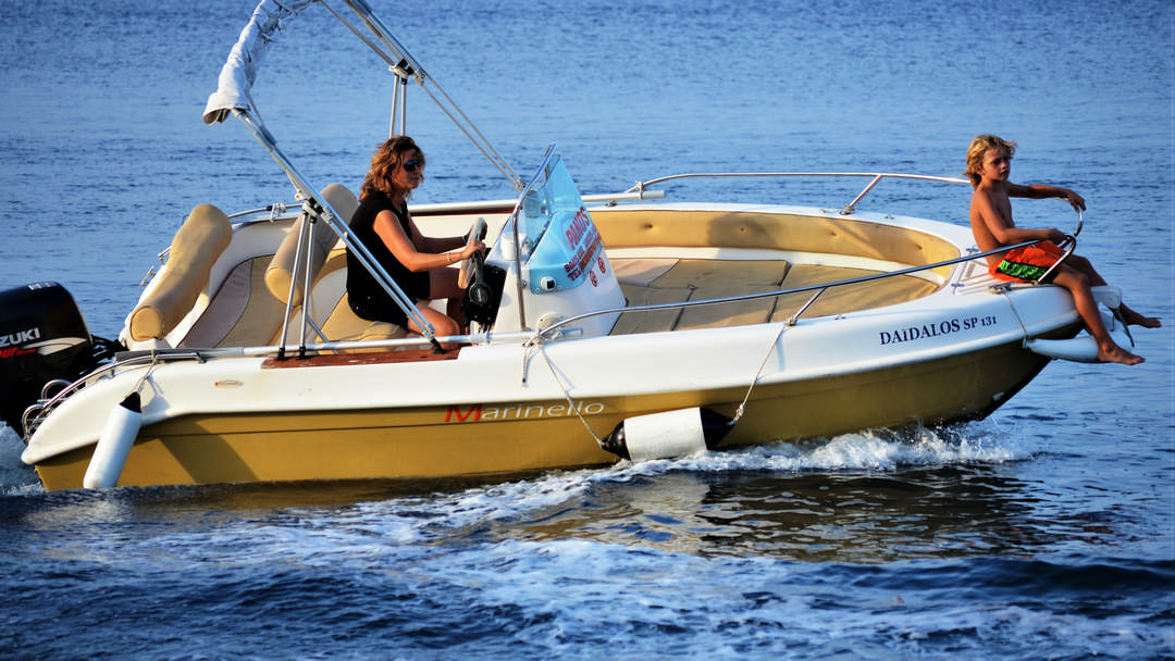 Ikaros & Daidalos | 30-60 HP Deluxe Boats for rent in Paxos