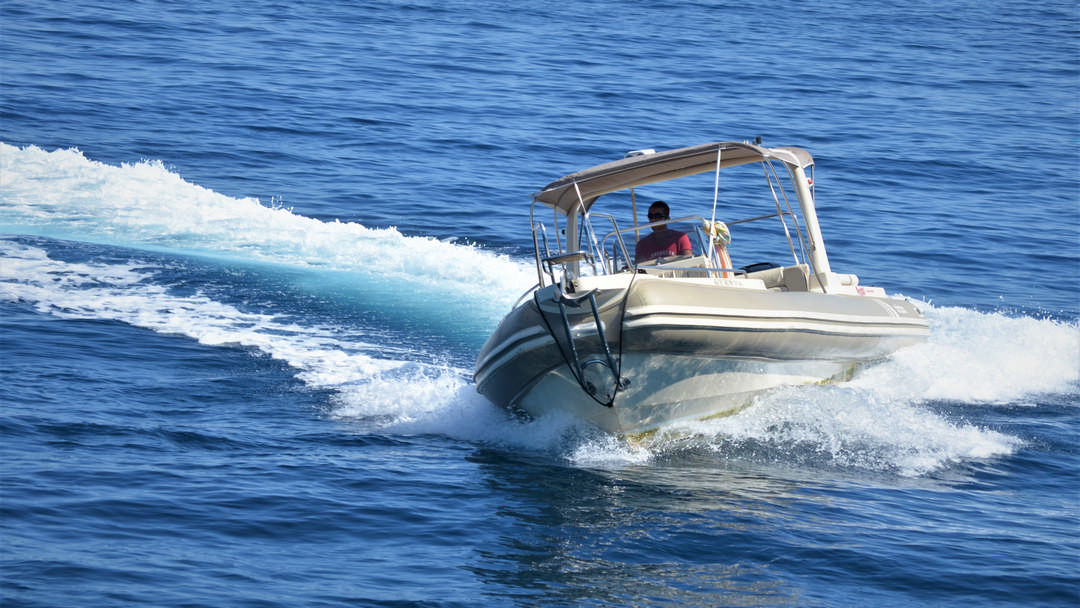 Kouros | 2 x 300 HP Luxury RIB for rent in Paxos