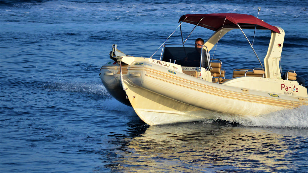 Narkissos | 175 HP Sport Deluxe RIB for rent in Paxos