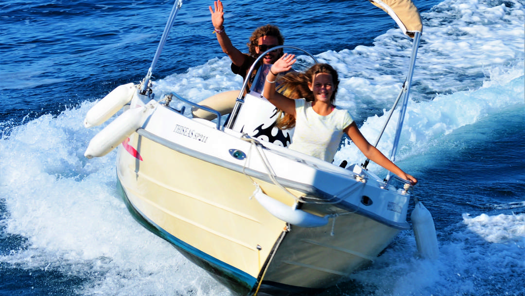 Perseas & Thiseas | 30-50 HP Sp. Comfort Boats for hire in Paxos