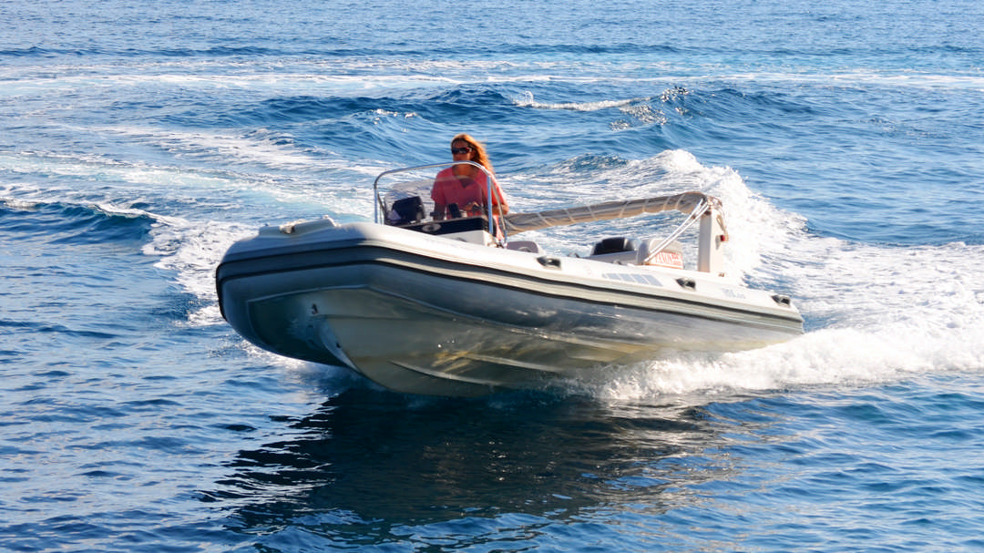 Triton | 175 HP Sport Deluxe RIB for hire in Paxos