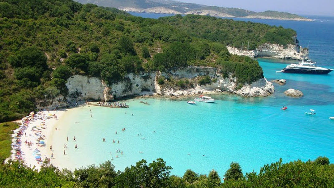 Around Paxos - Blue Caves & Antipaxos | Daily boat trip